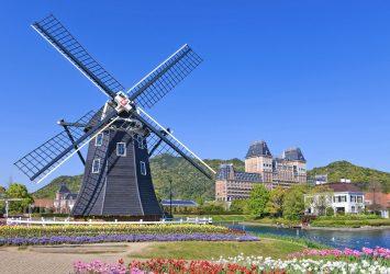 ハウステンボスの風景 長崎の風景