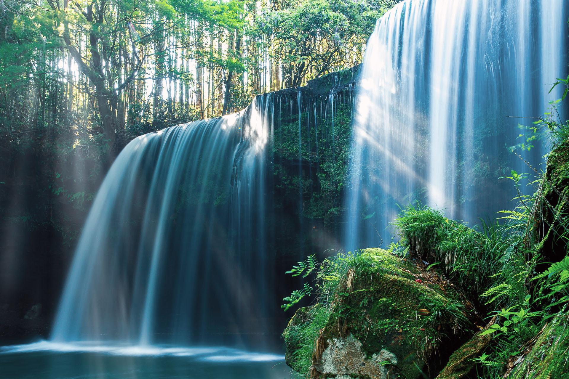 鍋ヶ滝 熊本の風景