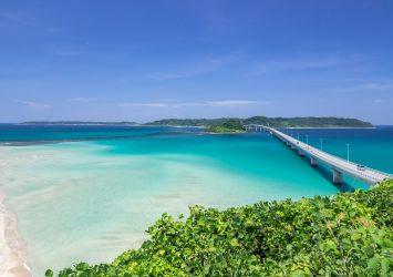 角島大橋 山口の風景