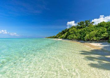 ニシ浜の風景 波照間島 沖縄の風景
