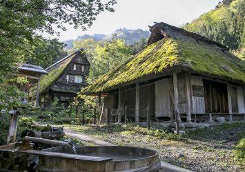 平湯温泉 奥飛騨の古民家 岐阜の風景