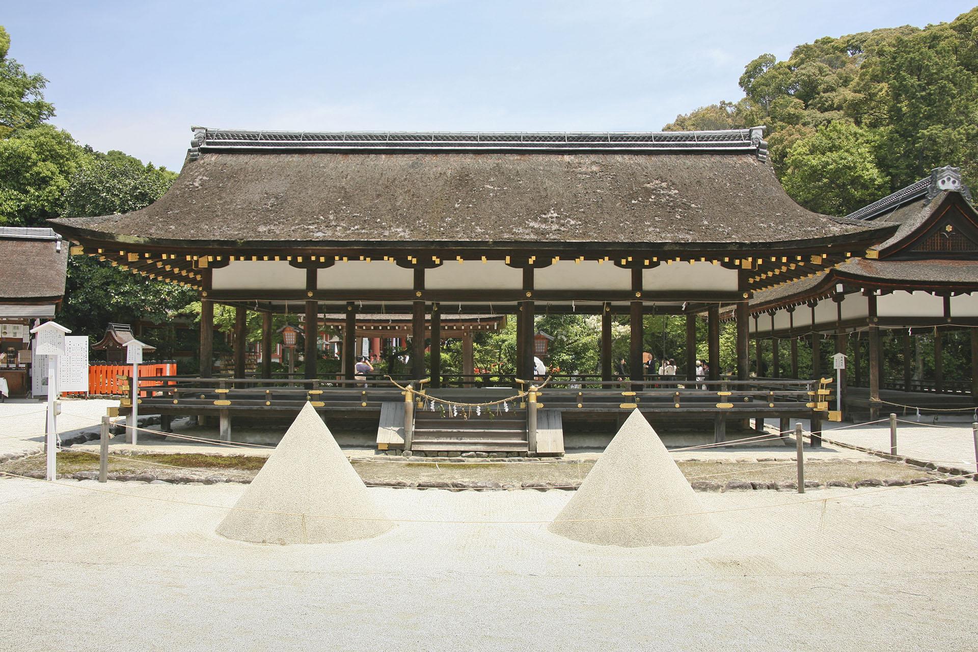 上賀茂神社 京都の風景