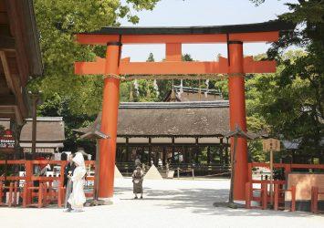 賀茂別雷神社 京都の風景