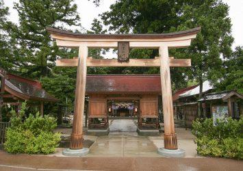 八重垣神社の風景 島根の風景