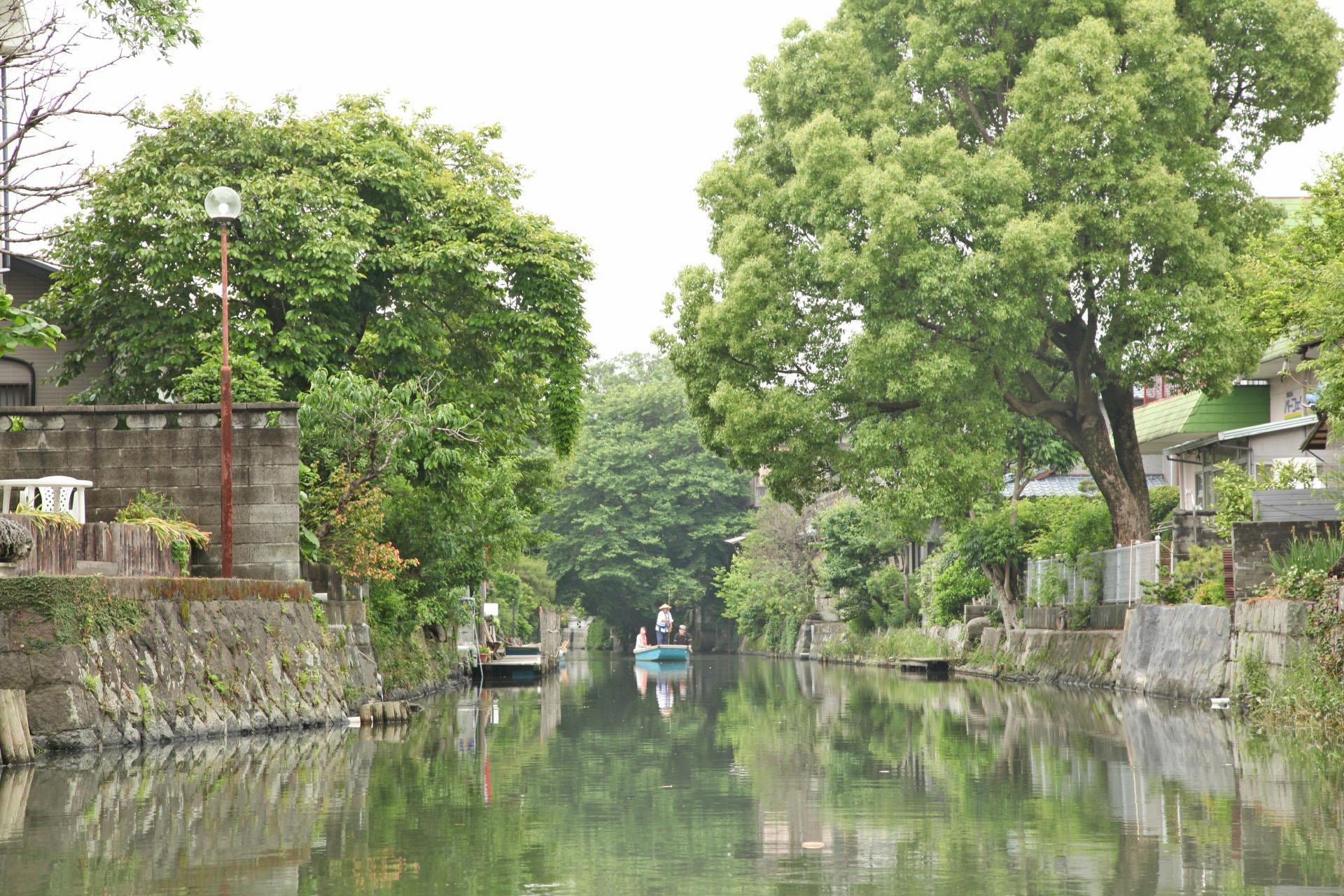 柳川の風景 福岡の風景