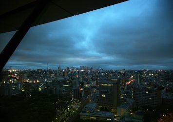 文京シビックセンターから見る風景 東京の風景