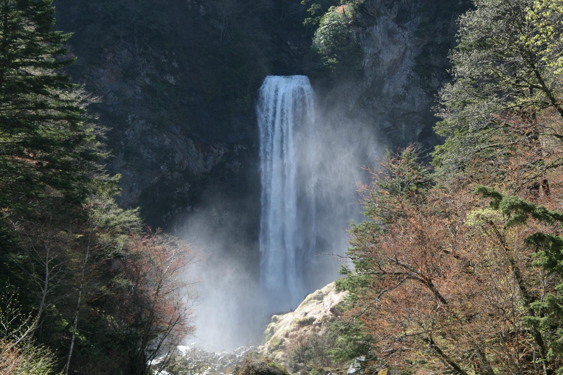 平湯大滝 奥飛騨の風景 岐阜の風景
