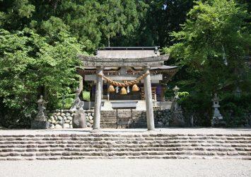 白川八幡神社 白川郷 岐阜の風景