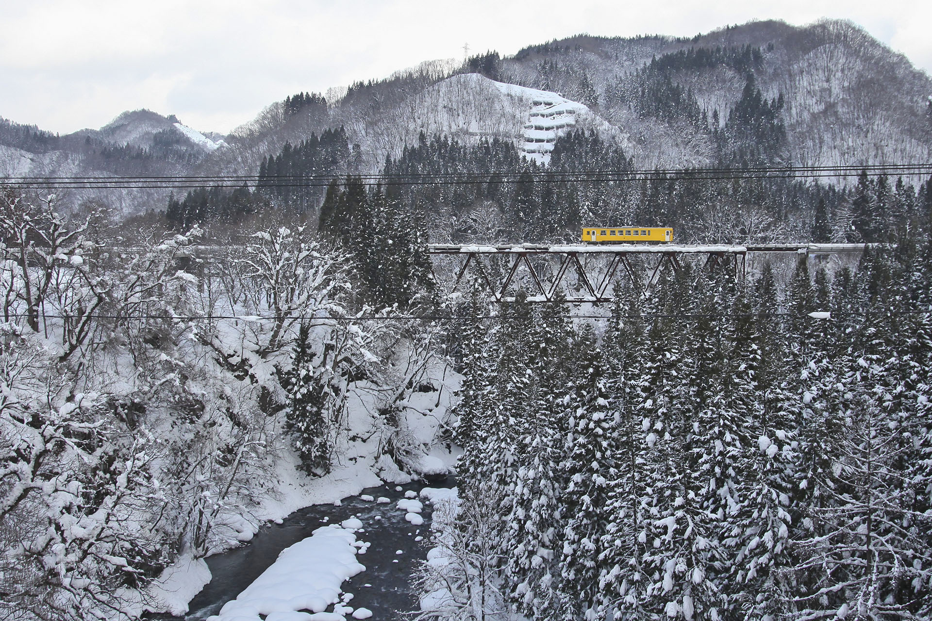 冬の秋田内陸縦貫鉄道 秋田内陸線