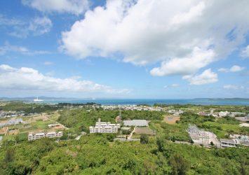 勝連城から見る風景 沖縄の風景