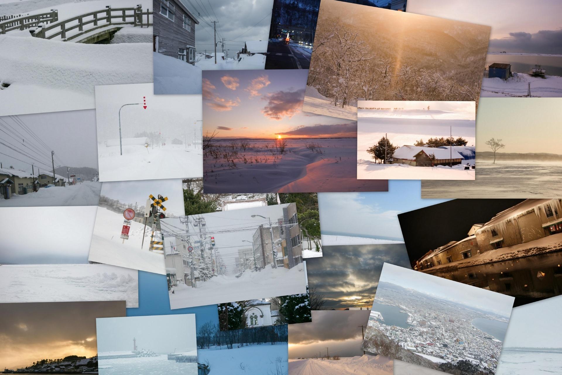 北海道の冬の絶景 北海道の風景