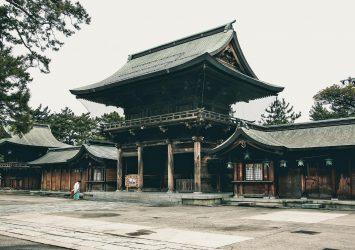 新潟総鎮守 白山神社 新潟の風景