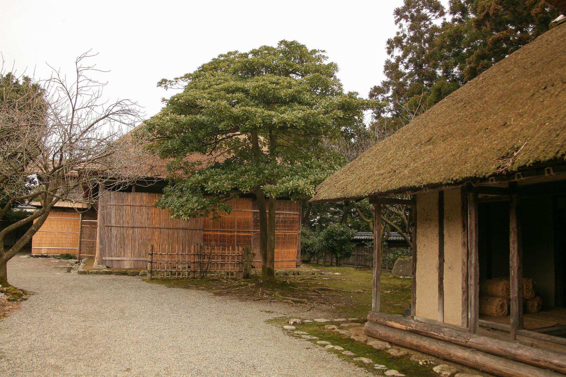 新潟 豪農の館「北方文化博物館」 新潟の風景