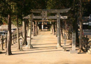 由加神社 岡山の風景