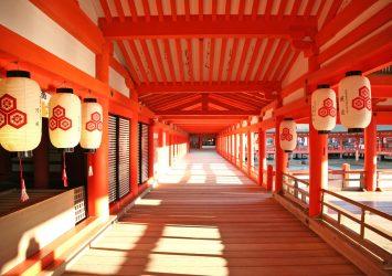 厳島神社の風景 広島の風景