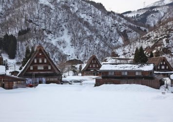 菅沼合掌造り集落 富山の風景
