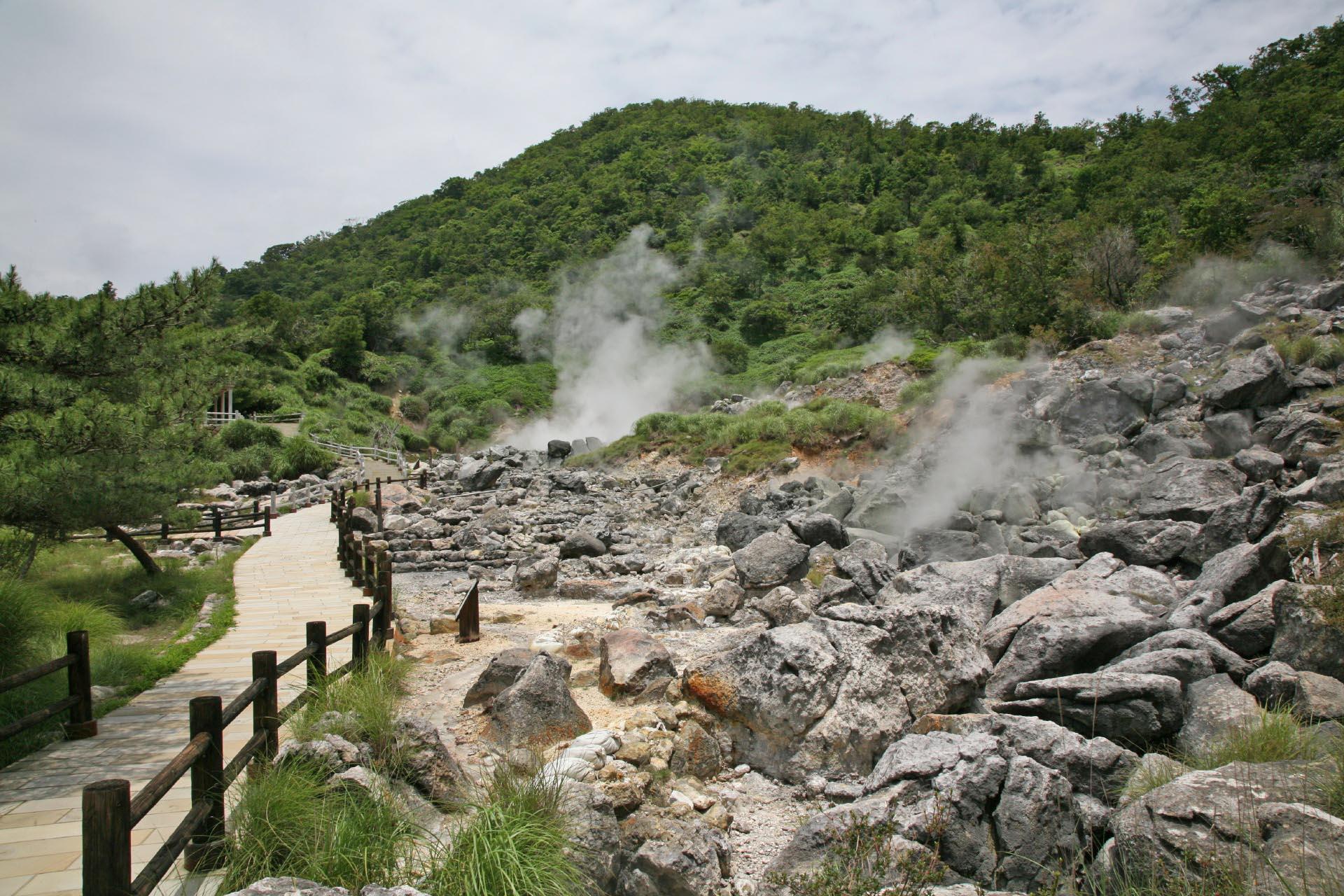 雲仙の風景 長崎の風景