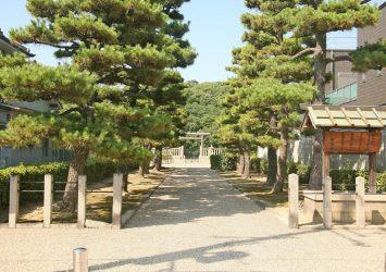 履中天皇百舌鳥耳原南陵(履中天皇陵) 大阪の風景