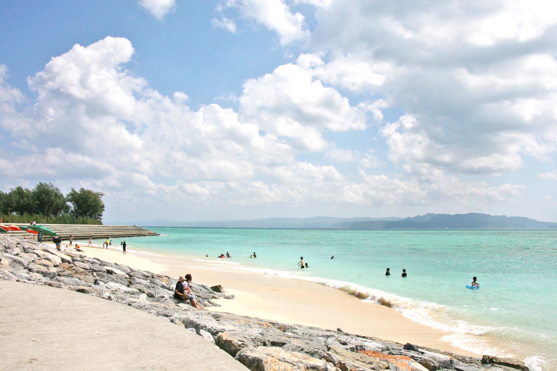 古宇利島の風景 沖縄の風景