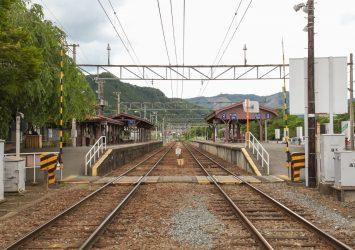 長瀞駅の風景 埼玉の風景