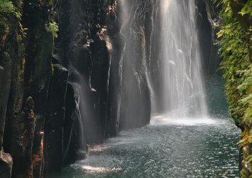 高千穂峡の風景 宮崎の風景