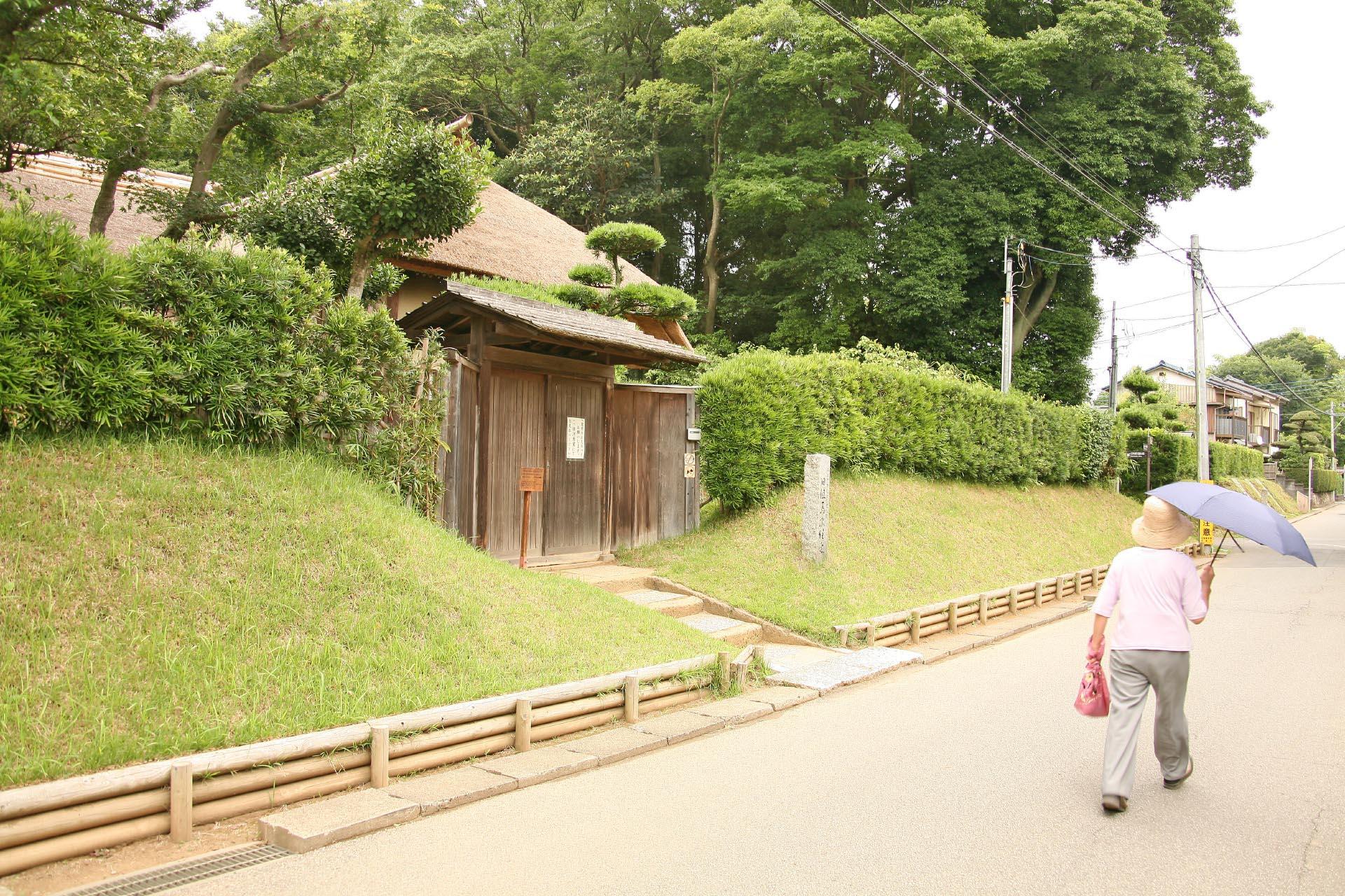 佐倉の武家屋敷通り(鏑木小路) 千葉の風景