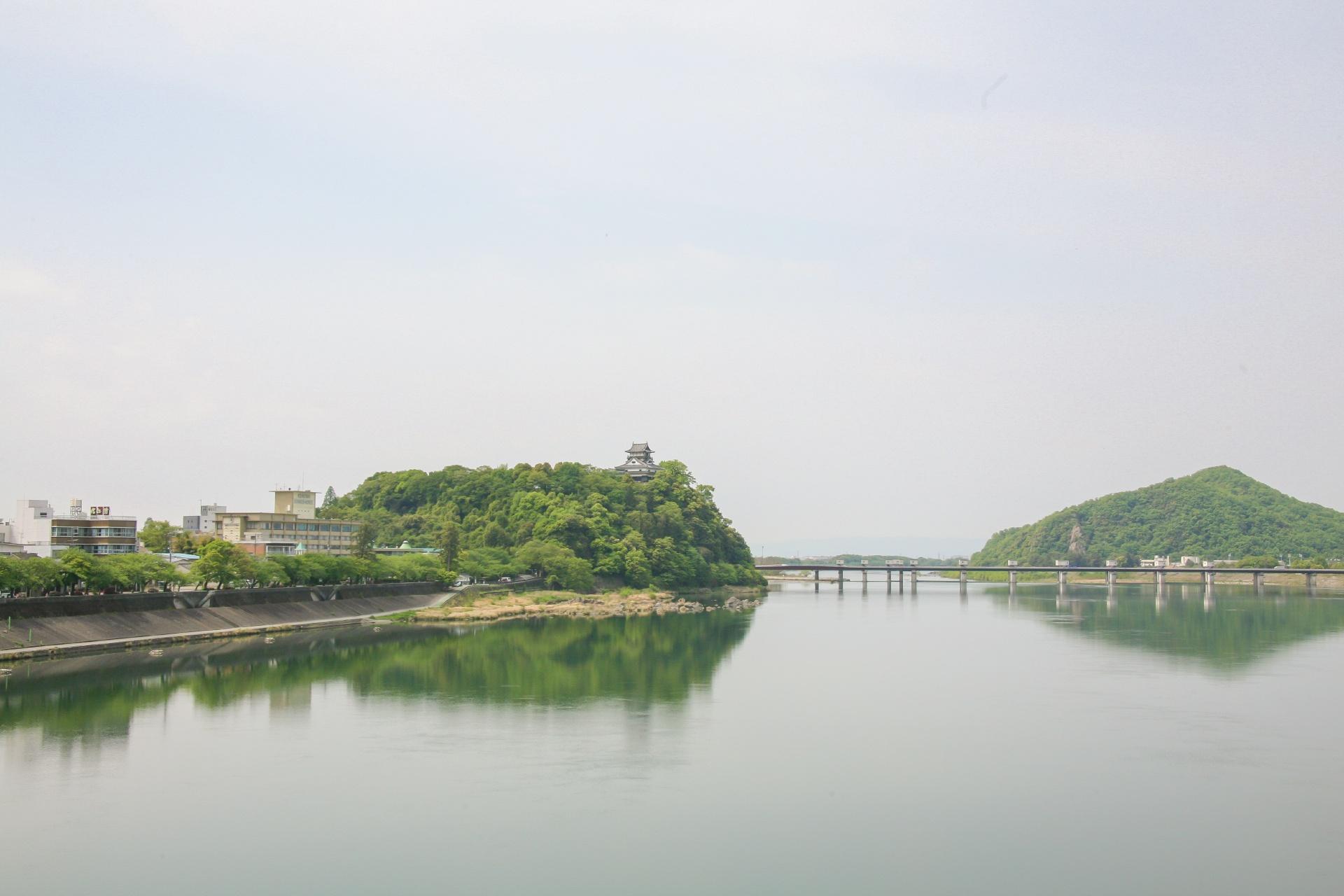 犬山城の風景 愛知の風景