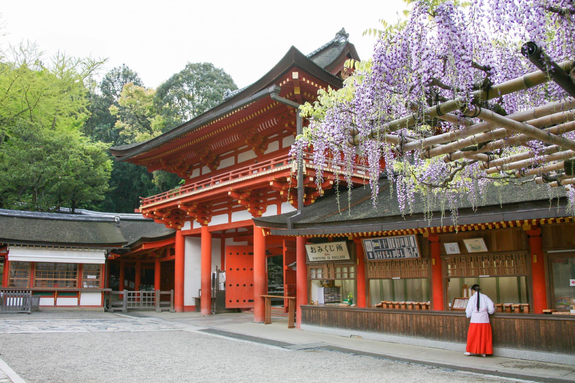 春日大社の風景 奈良の風景