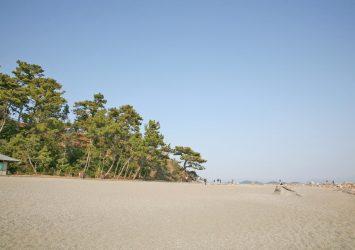 桂浜の風景 高知の風景