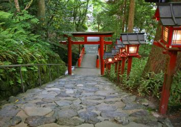 五月の貴船神社 京都の風景
