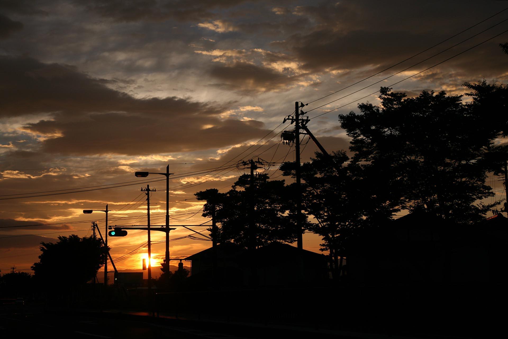 福島の日の出 福島の風景