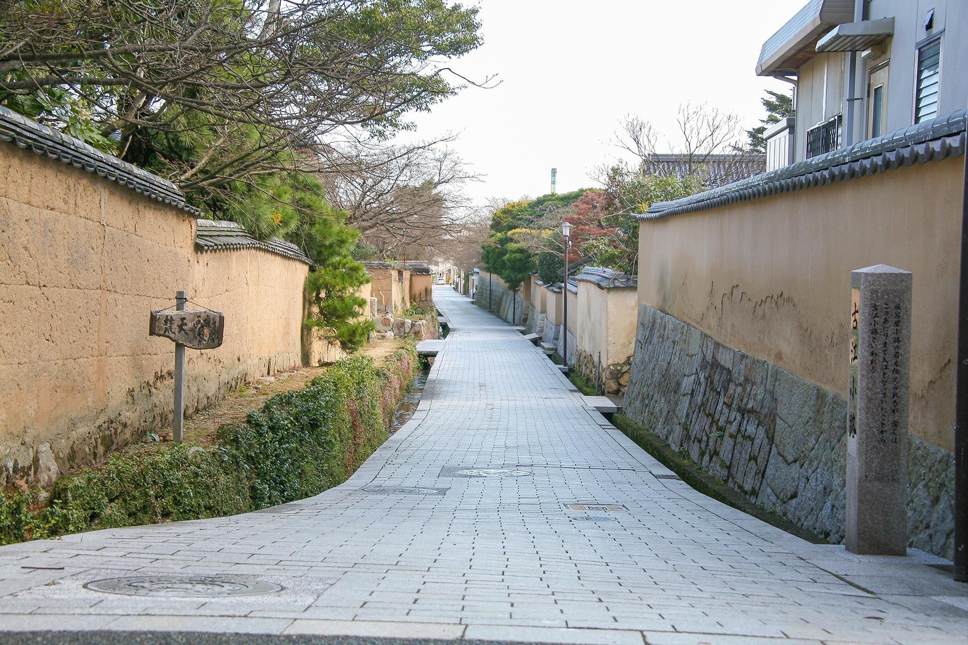 長府 古江小路の風景 山口の風景