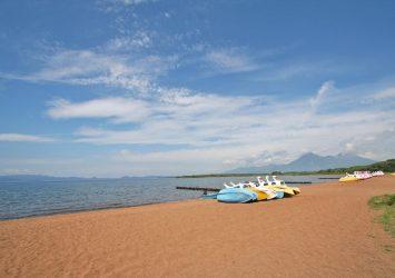 猪苗代湖の風景 福島の風景