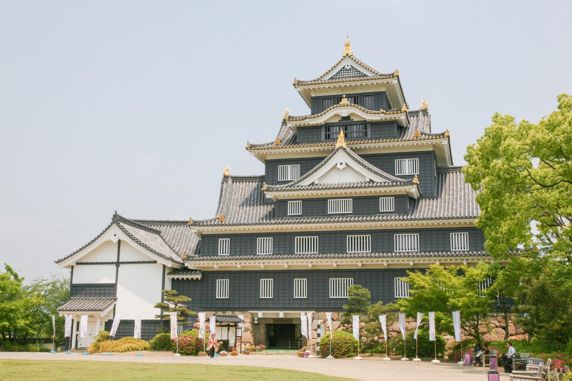 初夏の岡山城 岡山の風景