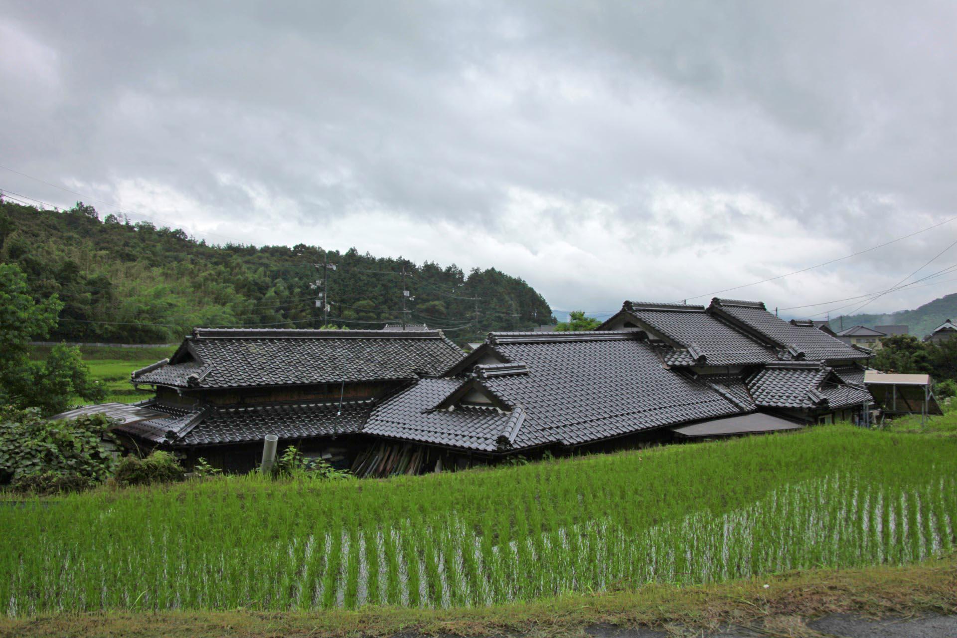 雨上がりの風景 山口の風景