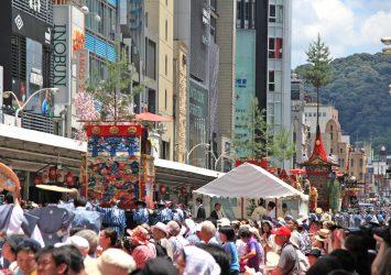 祇園祭の風景 夏の京都の風景