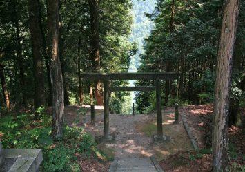 河合神社 岐阜の風景