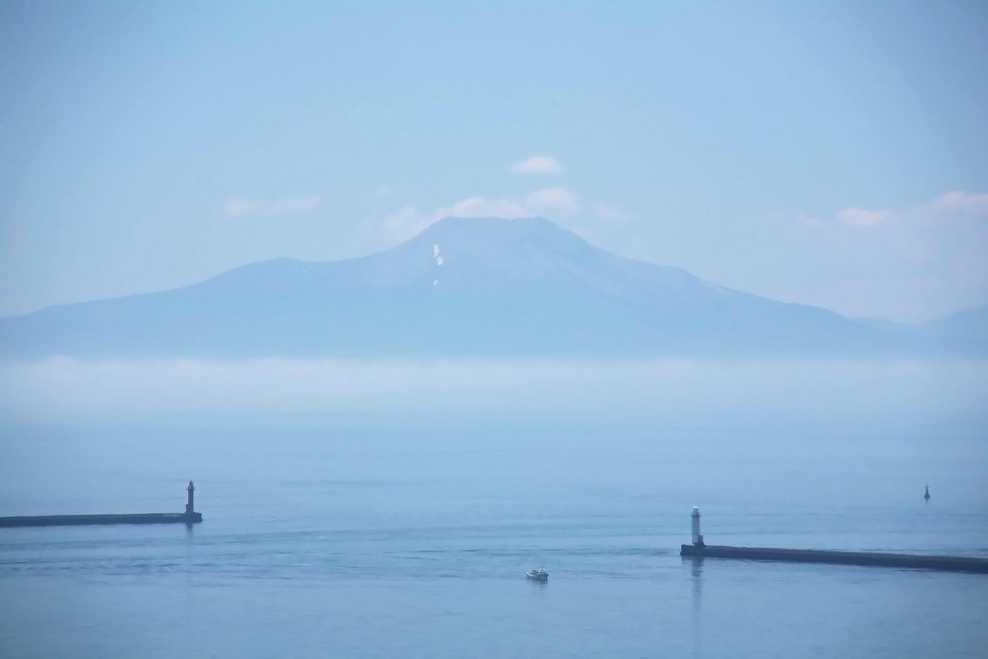室蘭 白鳥湾展望台から見る風景 北海道の風景