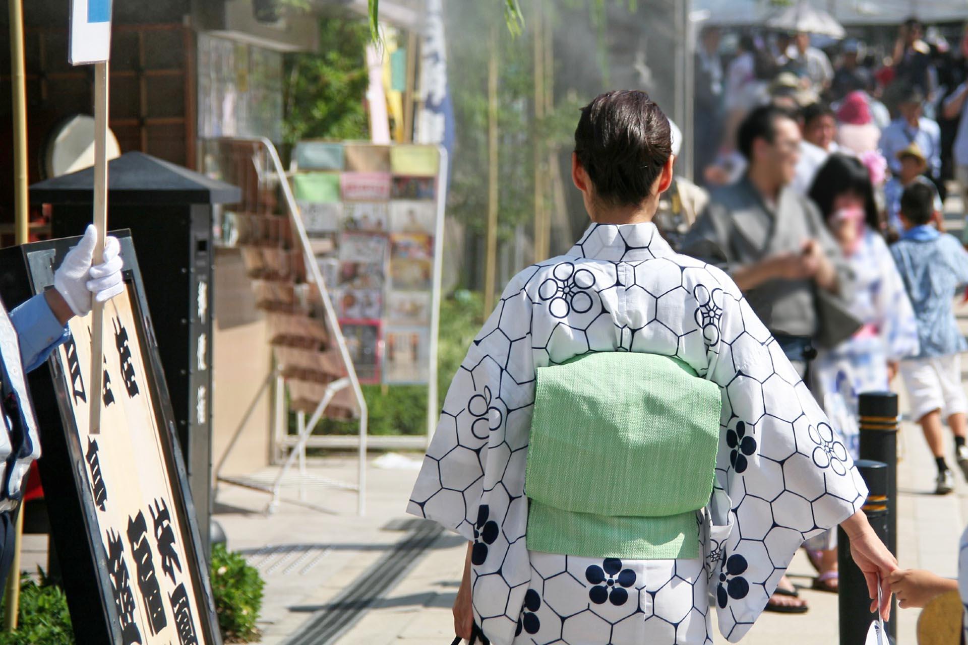 夏の大阪の風景 大阪天満宮