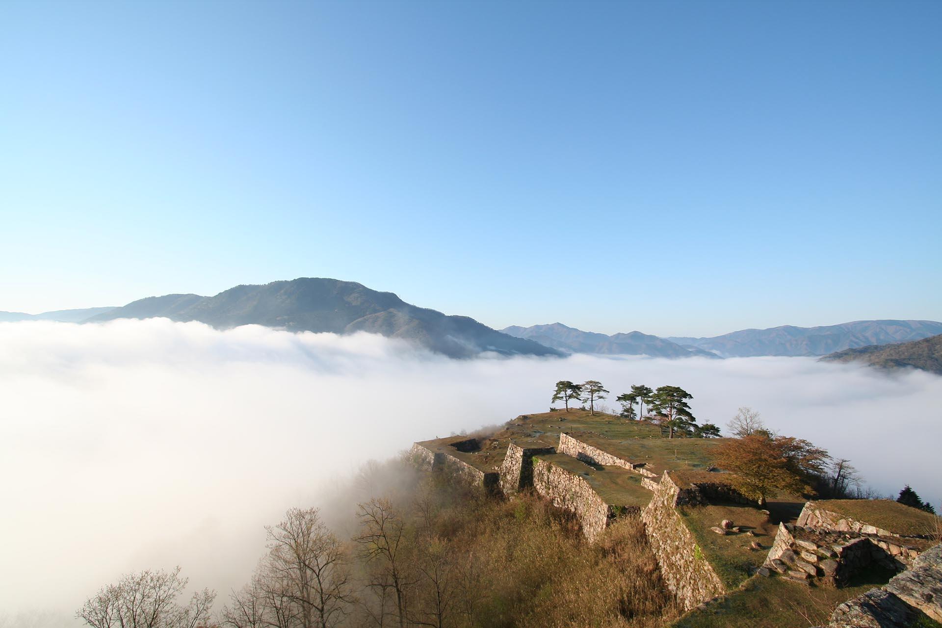 竹田城跡 兵庫の風景