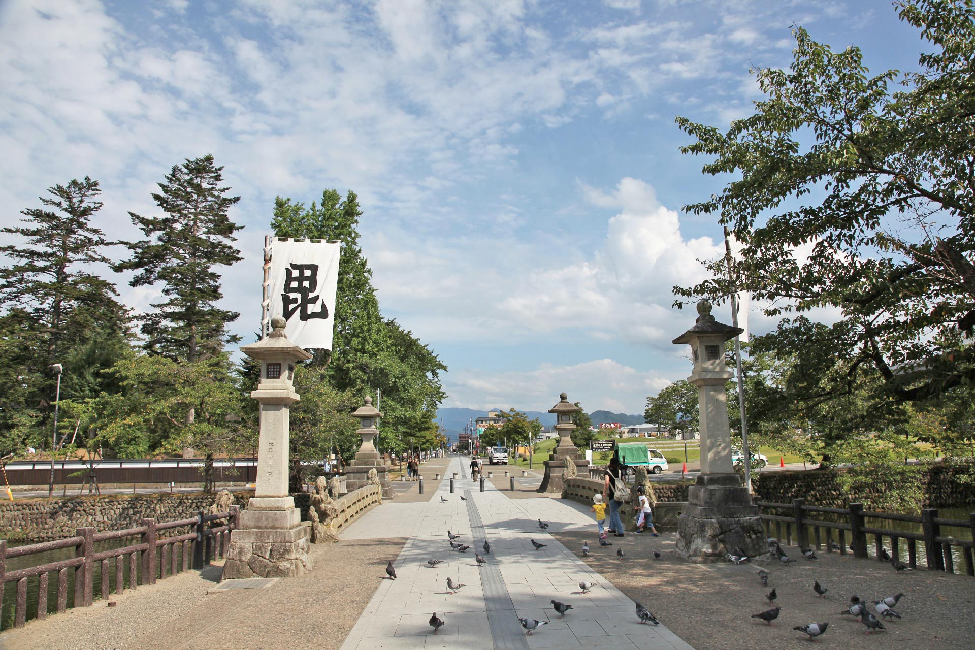 上杉神社 山形の風景