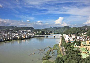 犬山城から見る風景 愛知の風景