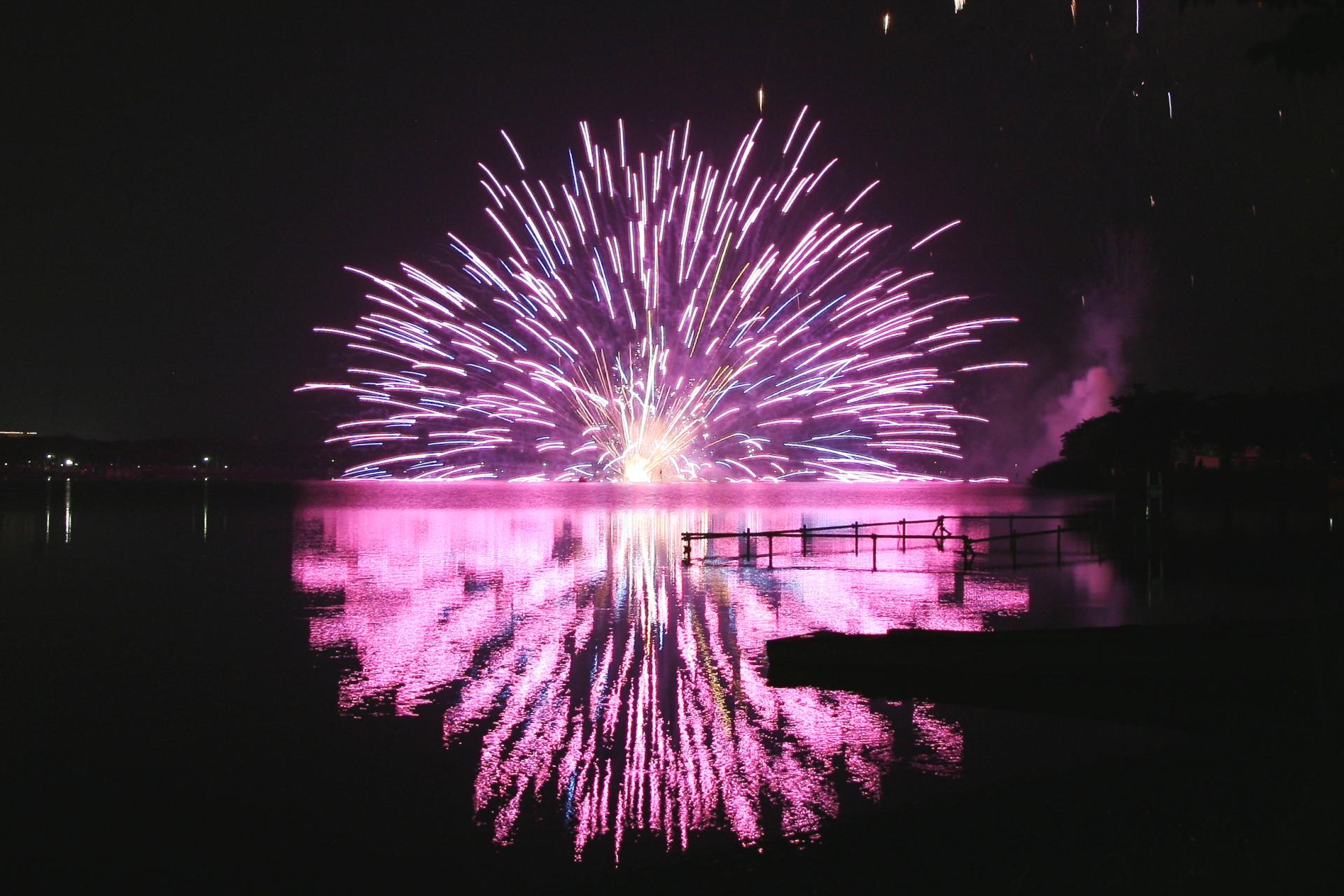 小江戸川越花火大会 埼玉の風景