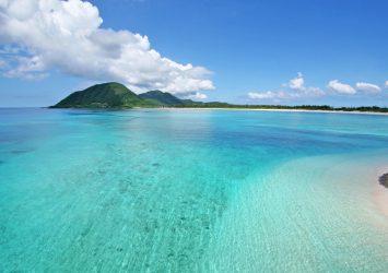 夏の沖縄 島の風景 沖縄の風景
