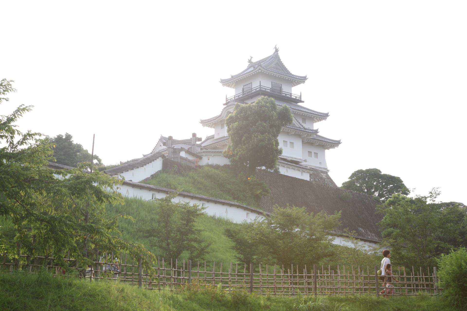 掛川城 静岡の風景