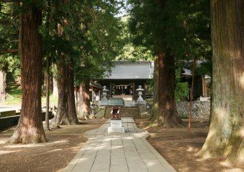 川口浅間神社 山梨の風景