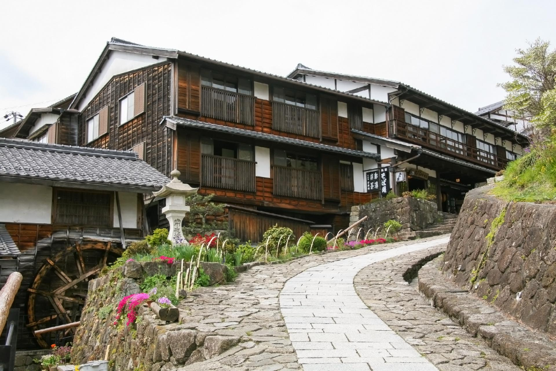 馬籠宿 岐阜の風景