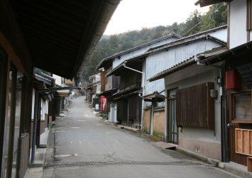 宮島の街並み 広島の風景
