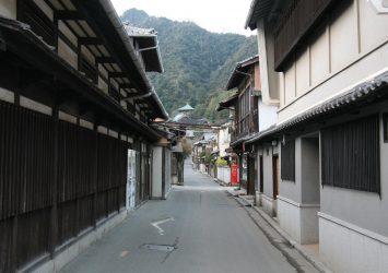 宮島の町並み 広島の風景