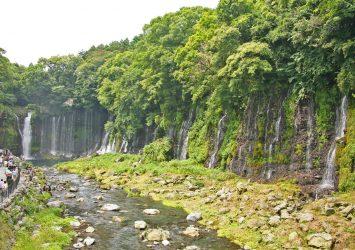 白糸の滝 静岡の風景
